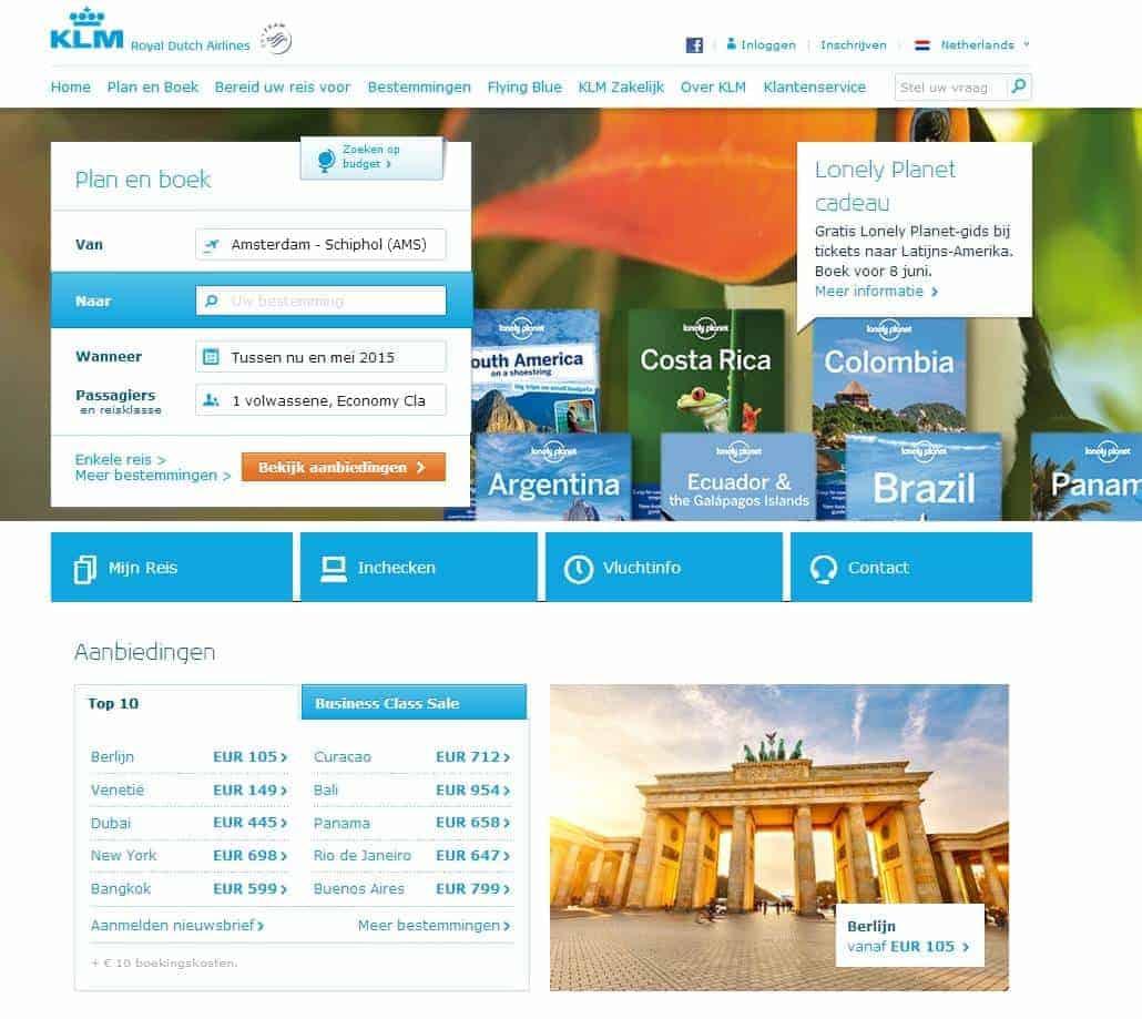 Een web met een sparkle for Buro website