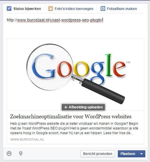 Facebook-URL-na